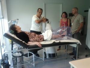 A Tenerife si curano i paziente con ULCOSAN