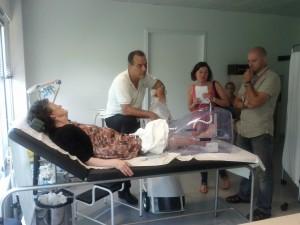 terapia di ulcera della gamba con Ulcosan